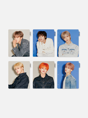 NCT DREAM BINDER INDEX - We Boom