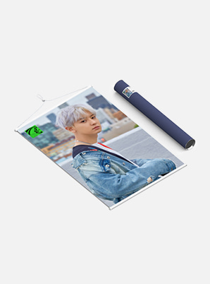CHANYEOL WALL SCROLL POSTER