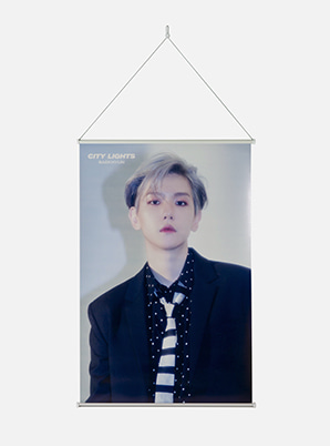 BAEKHYUN WALL SCROLL POSTER