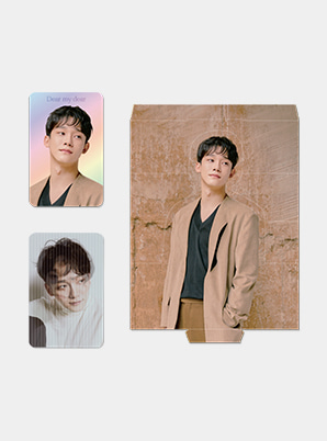 CHEN LENTICULAR PHOTO CARD SET - Dear my dear