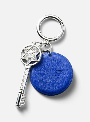 SUPER JUNIOR LEATHER KEYRING 14TH