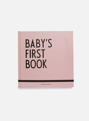 [MD &P!CK] DESIGN LETTERS Baby's First Book