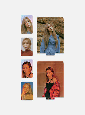 TAEYEON LENTICULAR PHOTO CARD SET - Purpose