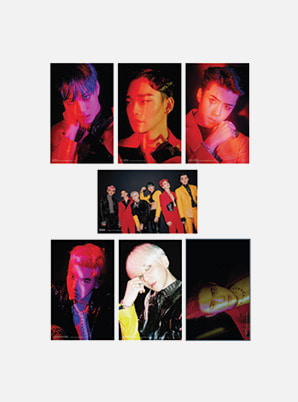 EXO 4X6 PHOTO SET (X-EXO ver.) - OBSESSION