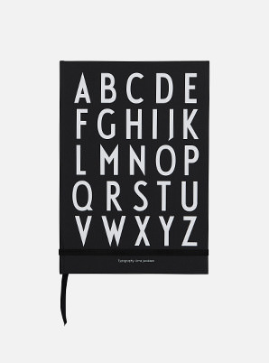 [MD &P!CK] DESIGN LETTERS ABC Notebook