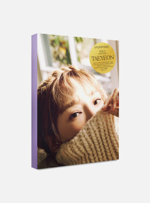 TAEYEON POSTCARD BOOK - Purpose Repackage
