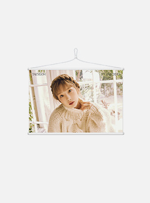 TAEYEON WALL SCROLL POSTER - Purpose Repackage