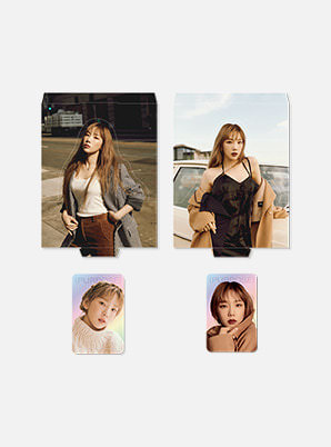 TAEYEON HOLOGRAM PHOTO CARD SET - Purpose Repackage